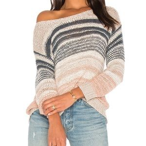 Cupcakes & Cashmere Revolve Reena Striped Sweater